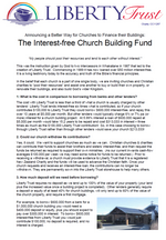 Interest-free Church Buildings - Liberty Trust